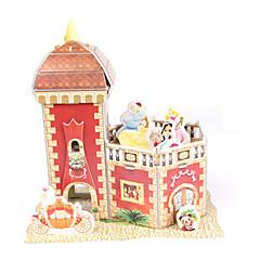 tanie Gry i puzzle-Zabawki 3D Puzzle Papierowy model Model Bina Kitleri Zamek Dom Architektura 3D DIY Impreza Papier wysokiej jakości Klasyczny Dla chłopców