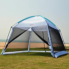 5-8 Persoons Tent Camping zonnescherm Strandtent Enkel Kampeer tent Eèn Kamer Opgevouwen Tent Ultra-Violetbestendig Regenbestendig