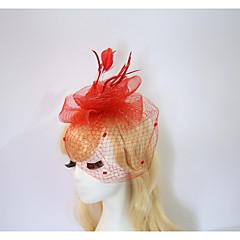 Resina Capacete-Casamento Ocasião Especial Halloween Aniversário Festa/Noite Fascinador Chapéus 1 Peça