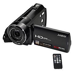 Andoer®hdv-v7 1080p full HD digitalt videokamera videokamera maks. 24 megapiksler 16 digital zoom med 3,0 roterbar LCD-skjerm