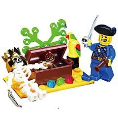 Stavební bloky Figurky z kostiček Hračky Lebka Pirát Pieces Unisex Dárek