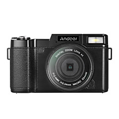 Andoer r1 1080p 15fps täysi hd 24mp digitaalikamera cam videokamera 3,0 pyörivä lcd-näyttö anti-shake 4x digitaalinen zoom vetäytyvä