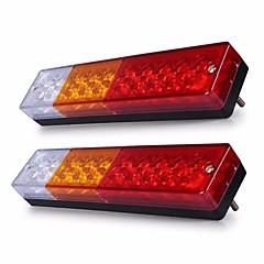 levne Zadní světla-ZIQIAO 2pcs Náklaďák Žárovky Zadní světlo For Evrensel