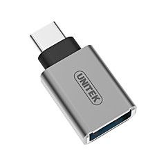 Unitek USB 3.0 Typ C Adapter, USB 3.0 Typ C to USB 3.0 Adapter Male - Female