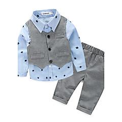 billige Tøjsæt til drenge-Spædbarn Drenge Galakse Bomuld Tøjsæt