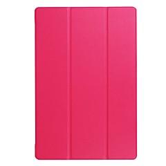 billige Nettbrettetuier-Solid farge mønster pu lærveske med stativ for acre b3-a40 10 tommers tablet pc