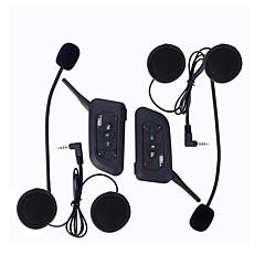 Motocicleta V4.2 Fones Bluetooth Estilo pendurado da orelha Transmissores FM USB Port Player MP3
