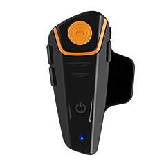 tanie Zestawy słuchawkowe do kasków-1 sztuk bt-s2 1000 m zestaw słuchawkowy bluetooth motocykl intercom bluetooth v4.2 samochód głośnomówiący kontrola dźwięku / odtwarzacz mp3 motocykl