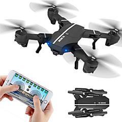 billige Fjernstyrte quadcoptere og multirotorer-RC Drone 8807W RTF 4 Kanaler 6 Akse 2.4G 2.0MP 720P Fjernstyrt quadkopter Wide Angle Camera FPV En Tast For Retur Hodeløs Modus Flyvning
