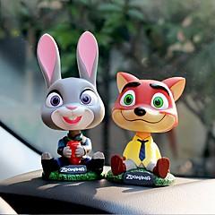 DIY automotive ornamenter tegneserie anime dukker bil anheng&Pyntegjenstander plast