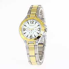 cheap Women's Watches-Women's Wrist Watch / Military Watch / Sport Watch Creative / Cool / Casual Watch Stainless Steel Band Charm / Luxury / Vintage Silver /