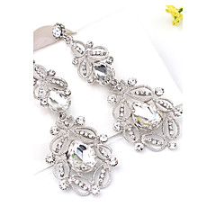 Women's Rhinestone Bohemian Costume Jewelry Alloy Flower Jewelry For Wedding Party Daily Ceremony Casual Stage Office & Career
