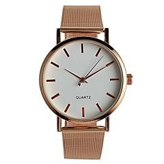Dames Modieus horloge Polshorloge Chinees Kwarts / Roestvrij staal Band Vrijetijdsschoenen Elegante horloges Goud Rose