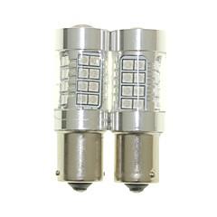 billige -Sencart 2pcs bau15s 1056 py21w pære ledet bilhale omvendt lyspære lamper (hvid / rød / blå / varm hvid) (dc / ac9-32v)