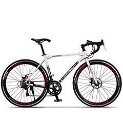 אופני קרוזר רכיבת אופניים 14 מהיר 700CC/26 אינץ' SHIMANO TX30 דיסק בלימה ללא דאמפים שלדת סגסוגת אלומיניום נגד החלקה Aluminum Alloy