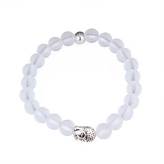 cheap -Women's Strand Bracelet Fashion Buddha Statue Alloy Round Jewelry For Daily
