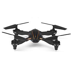 billige Fjernstyrte quadcoptere og multirotorer-RC Drone WL Toys Q616 4 Kanal 2.4G Med 0.3MP HD-kamera Fjernstyrt quadkopter En Tast For Retur Hodeløs Modus Sveve Med kamera Fjernstyrt