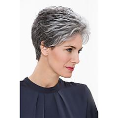 cheap Wigs & Hair Pieces-Human Hair Capless Wigs Human Hair Natural Wave Classic High Quality Machine Made Wig Daily