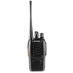 billige Walkie-talkies-BAOFENG 888S Walkie-talkie Håndholdt Dobbelt bånd 3-5 km 3-5 km 16CH 1500mAh <5W Walkie Talkie Toveis radio