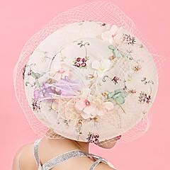 economico Accessori da serata per capelli-Tulle / Chiffon / Pizzo fascinators / cappelli / Molletta con 1 Matrimonio / Occasioni speciali / Compleanno Copricapo