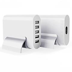 USB-laturi 5 Portit Työpöydän latausasema Telakka US-pistoke EU-pistoke Latausadapteri