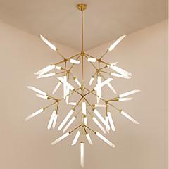 baratos Iluminação Decorativa-Sputnik Lustres Luz Ambiente Galvanizar Metal Vidro Estilo Mini 200-240V / 110-120V Lâmpada Não Incluída / G9