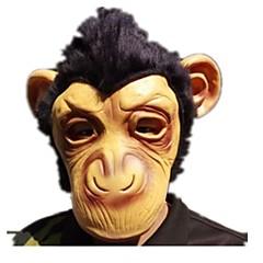 tanie Zabawki nowoczesne i żartobliwe-Maski na Halloween / Maska zwierzęca Małpa / Motyw horroru Klej Sztuk Unisex Dla dorosłych Prezent