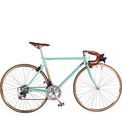 אופני הרים רכיבת אופניים 14 מהיר 700CC/26 אינץ' Shimano בלםV ללא דאמפים שלדת פלדה ניתן להסרה אלומיניום מתכת פחמית