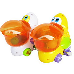 Brinquedos de Corda Brinquedos Pássaro Pato Plásticos Peças Não Especificado Dom