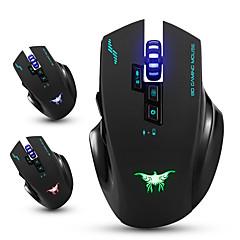 Combaterwing cw100 trådløse gaming mus optiske mus med 4 justerbare dpi nivåer 8 knapper 3 farger pustelys for PC
