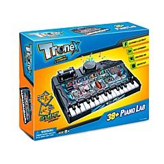 tanie Instrumenty dla dzieci-Pianino Zabawka edukacyjna Pianino Zrób to Sam ABS Dla nastolatków Unisex Dla chłopców Dla dziewczynek Zabawki Prezent