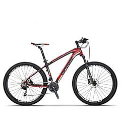 אופני הרים רכיבת אופניים 30 מהיר 27.5 אינץ Shimano דיסק בלימה מזלג שיכוך נגד החלקה סגסוגת אלומיניום סיבי פחמן + EPS Aluminum Alloy מתכת