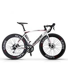 אופני קרוזר רכיבת אופניים 16 מהיר 700CC/26 אינץ' Shimano דיסק בלימה ללא דאמפים נגד החלקה Aluminum Alloy