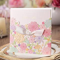 tanie Zaproszenia ślubne-Wrap & kieszonkowy Zaproszenia ślubne 20 - Zaproszenia Klasyczny styl Wytłaczany papier