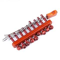 cheap -Wooden Puzzle IQ Brain Teaser Luban Lock Educational Toy IQ Test DIY Fun 1pcs Classical Kid's Gift