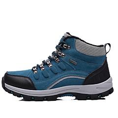 LEIBINDI Sapatos de Montanhismo Tênis de Caminhada Sapatos Casuais Homens Anti-Escorregar Vestível Reduz a Irritação Espetáculo Esportes