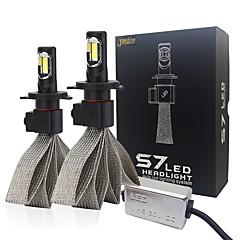 저렴한 -joyshine H4 모터사이클 전구 72W W 통합 LED 8000lm lm 8 헤드램프