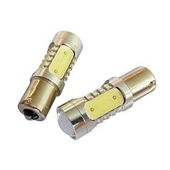 2 stk ny sagitarisk cob dagtid kjører lys ledet bil lys 1156 Vis bredt lys super lyse høye effekt 8w dc12v