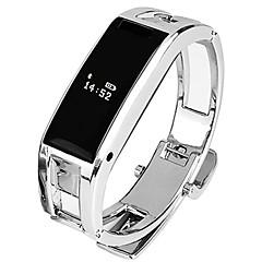 Slimme armband iOS Android Waterbestendig Lange stand-by Verbrande calorieën Stappentellers Gezondheidszorg Sportief Hartslagmeter Touch