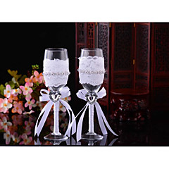 glas ristning fløjter gaveæske ristning fløjter bryllup reception