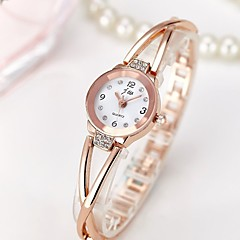 Women's Wrist Watch Chinese Chronograph / Water Resistant / Water Proof / Creative Stainless Steel Band Charm / Sparkle / Casual Silver / Rose Gold