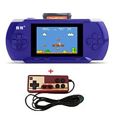 bærbare rs-2a håndholdte spillemaskiner 3.2 videospilkonsol til børn 300 klassisk spilstøtte af portfri patron 2d afspiller controller