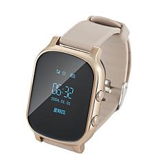 tanie Inteligentne zegarki-Zegarki dziecięce T58 na Android iOS Bluetooth GPS Długi czas czuwania Odbieranie bez użycia rąk Śledzenie Odległość Elektroniczne ogrodzenie Powiadamianie o połączeniu telefonicznym Budzik / > 480