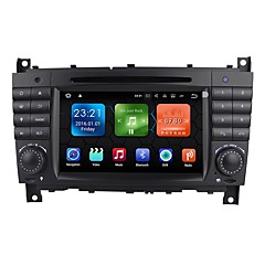 "cheap Car DVD Players-Android 7.1 7""Car Stereo Radio DVD Player Dash Bluetooth TV MP3 Mic for Mercedes-Benz C-class W203 2004-2008"