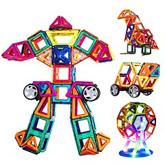 Magnetische Bau-Sets Spielzeuge Dreieck Heimwerken Neues Design Jungen Mädchen 108 Stücke