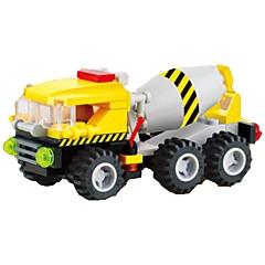 אבני בניין רכב בנייה צעצועים מכונות חפירה 1 חתיכות