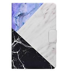 marmor mønster kortholder med stativ flip magnetisk pu lærveske til Samsung Galaxy Tab en t350 t355c 8,0 tommers tablet pc