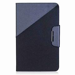 billige Nettbrettetuier-farge blokk mønster kortholder lommebok med stand flip magnetisk pu lærveske til Samsung Galaxy Tab en 10,1 t580n t585n 10,1 tommers PC-PC