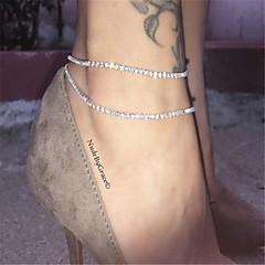 Women's Anklet/Bracelet Rhinestone Fashion Women's Jewelry For Daily Casual 1pc