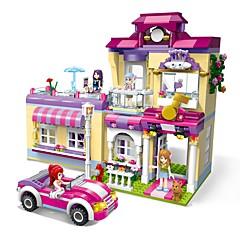 Sets zum Selbermachen Bausteine Spielzeuge Architektur Klassisch Häuser Heimwerken Klassisch Neues Design Erwachsene Stücke